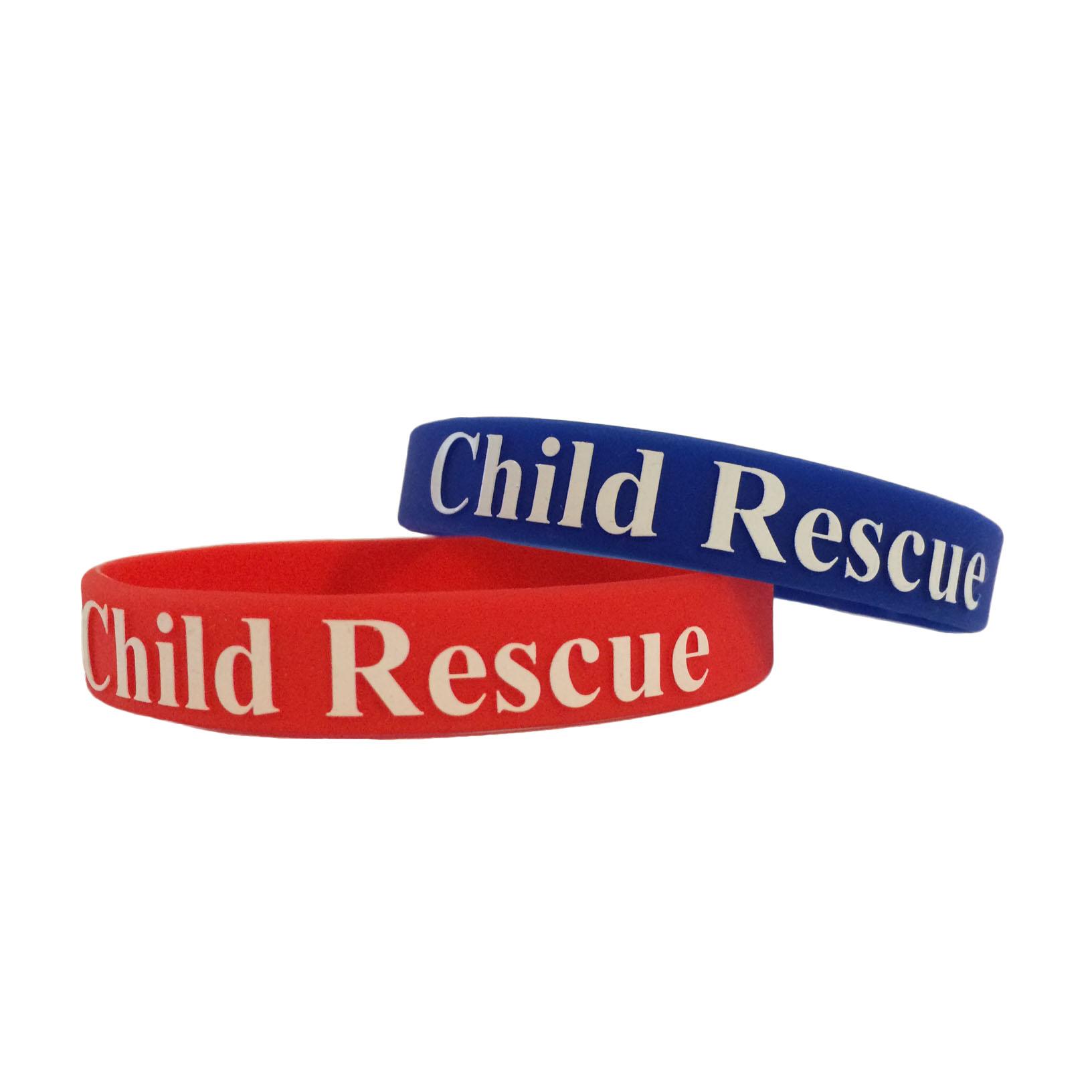Silicone Wrist Band - Child Rescue Project